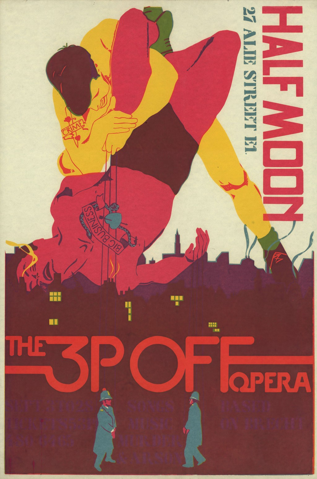 The 3P Off Opera poster