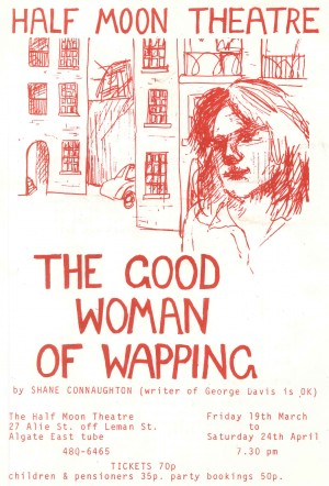 The Good Woman of Wapping Flyer (Front)
