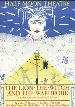 The Lion, The With and the Wardrobe programme/flyer