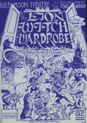 The Lion, The With and the Wardrobe - first flyer front