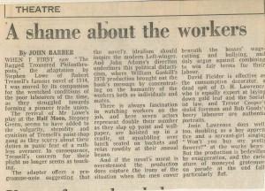 John Barber, September 1988