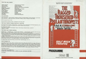 The Ragged Trousered Philanthropist - Programme (1)