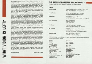 The Ragged Trousered Philanthropist - Programme (2)