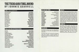 The Third and Final Round programme (2)