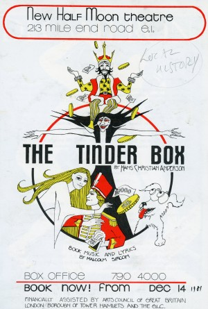 The Tinder Box - Flyer (front)
