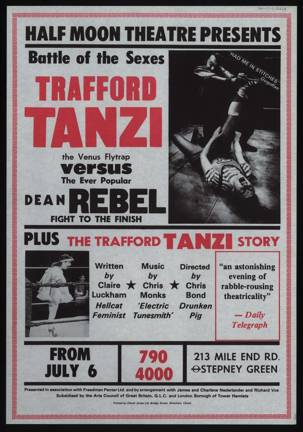 Trafford Tanzi Poster