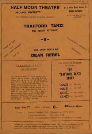 Trafford Tanzi Leaflet
