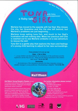 Tuna Girl Flyer (Back)
