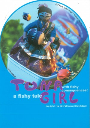 Tuna Girl Flyer (Front)