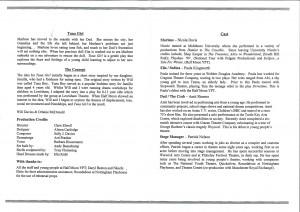 Tuna Girl Programme (2)