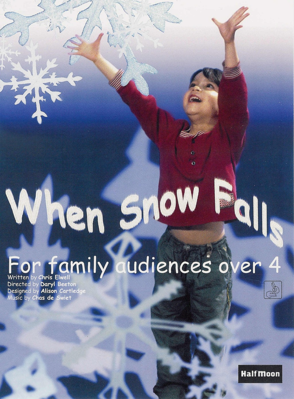 When Snow Falls Flyer Image