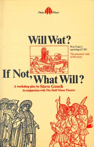 Printed play cover. Pluto Press, London, 1975