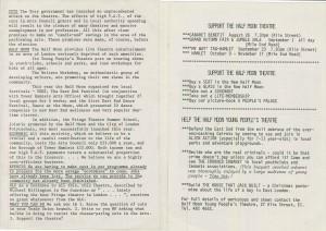 Woyzeck, Mahagonny & Chobham Armour Programme (2)