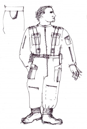 Woyzeck. Costume design by Iona McLeish