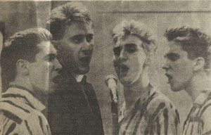 Yakety Yak photo in The Chronicle, 28 January 1983. Photo by John Haynes