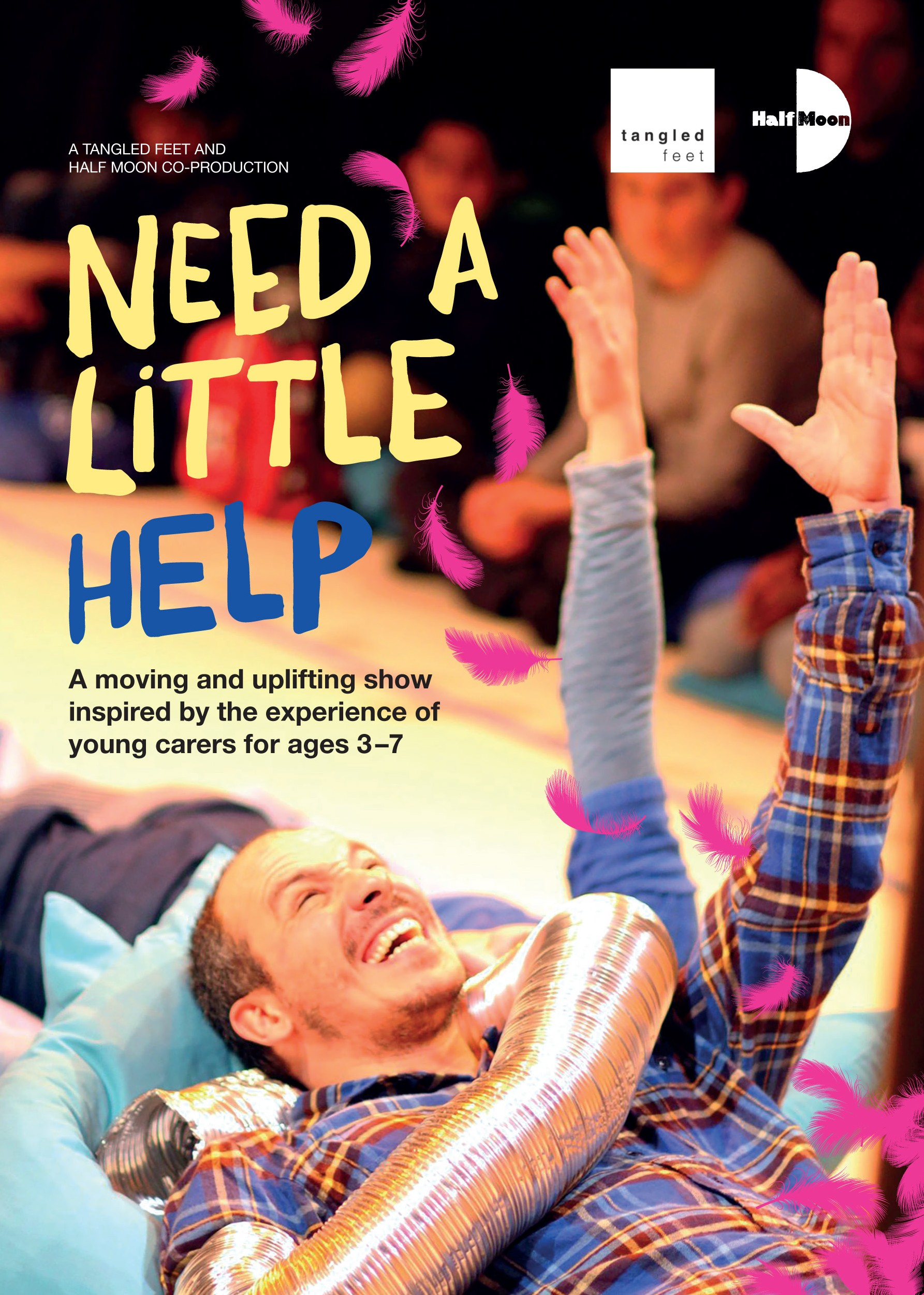 Need a Little Help flyer (Front)