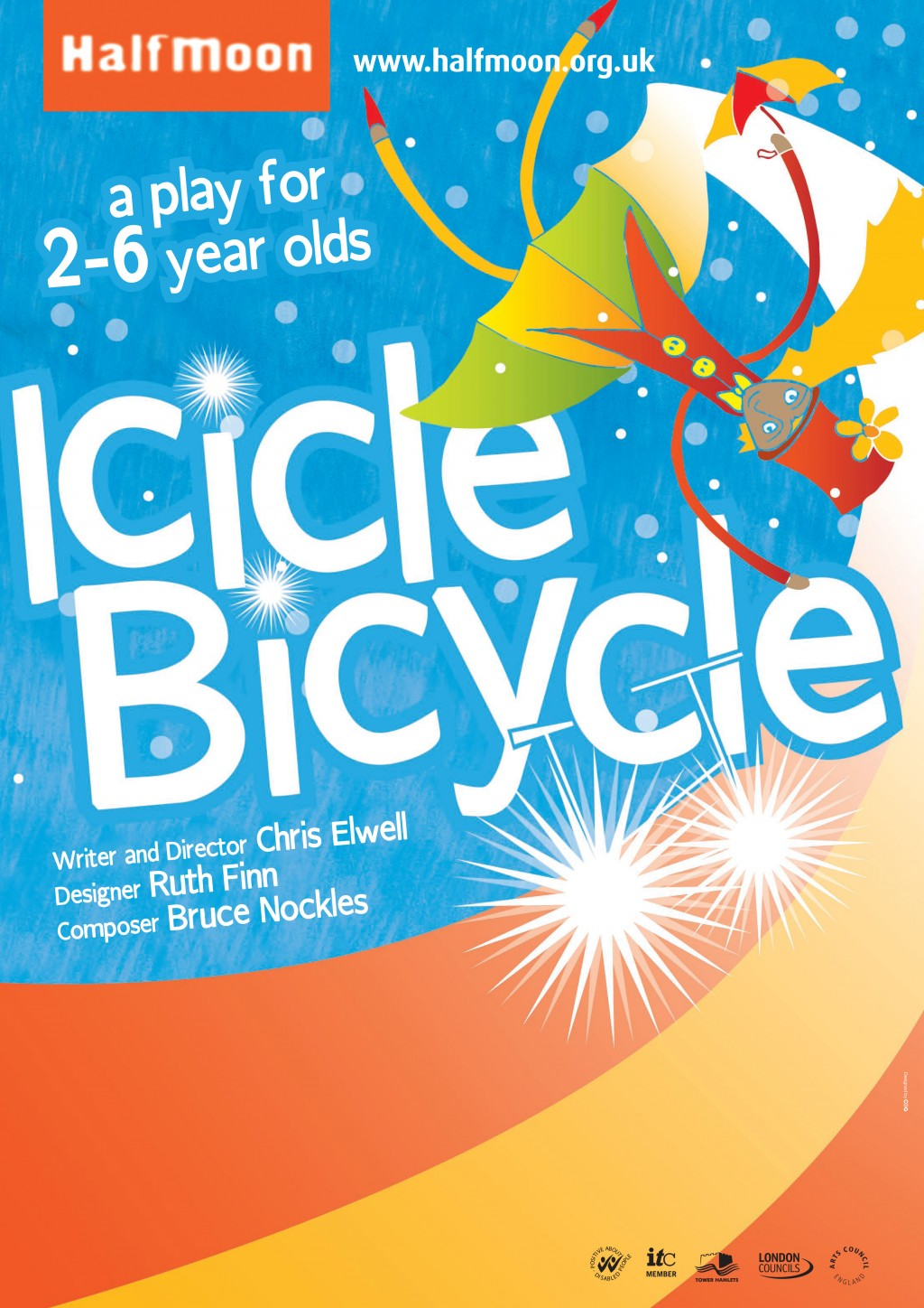 Icicle Bicycle Flyer Image