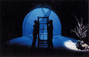 When Snow Falls - photo from 2001 production