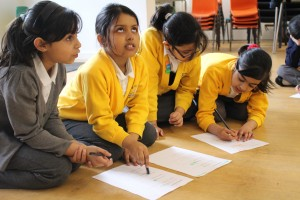 Hansel and Gretel and Number Sequences - St Paul's Whitechapel Primary, Spring 2014