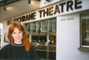 Trainee at their theatre placement, Technical Theatre Training 2001-2008