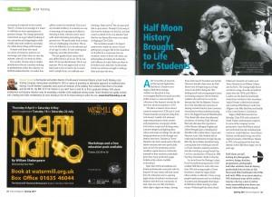 Drama Magazine, Stages of Half Moon - 2017.01.31
