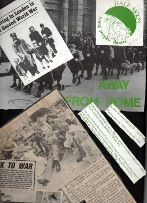 Away From Home Scrapbook Page from Matthew Zajac