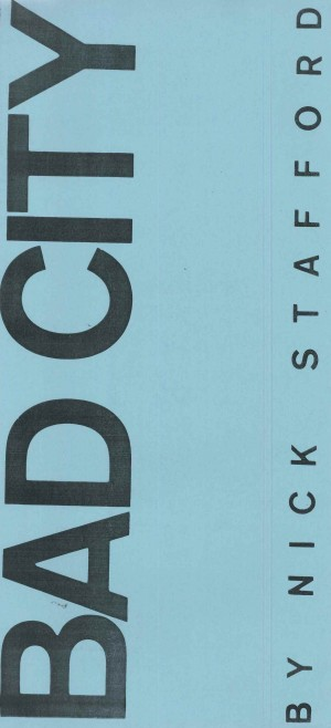 Bad City - Programme (front)