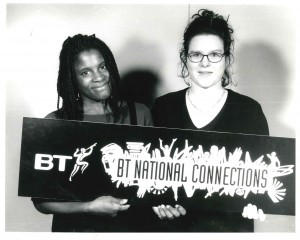 Can You Keep a Secret? BT National Connections Winsome Pinnock and HMYPT member
