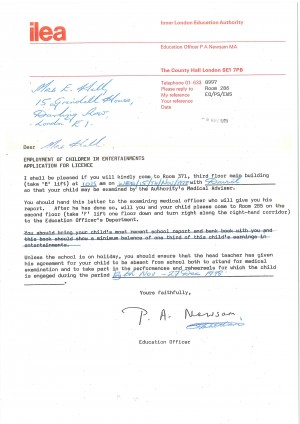Dave Hill - Application for Licence to perform (2)