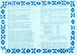 Dear Suraiya... Love Rehana (1988) Programme (2)