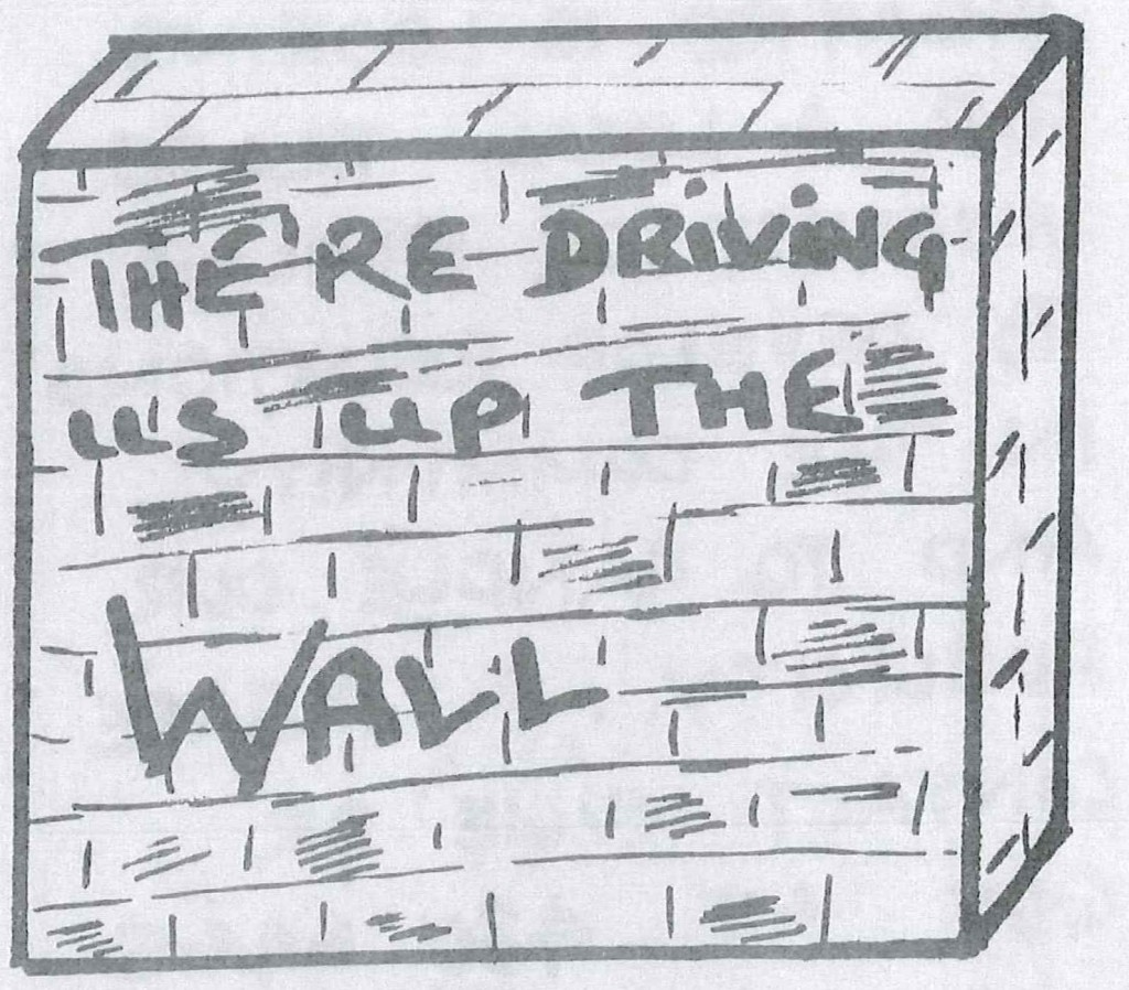 Driving us up the Wall - Main Image