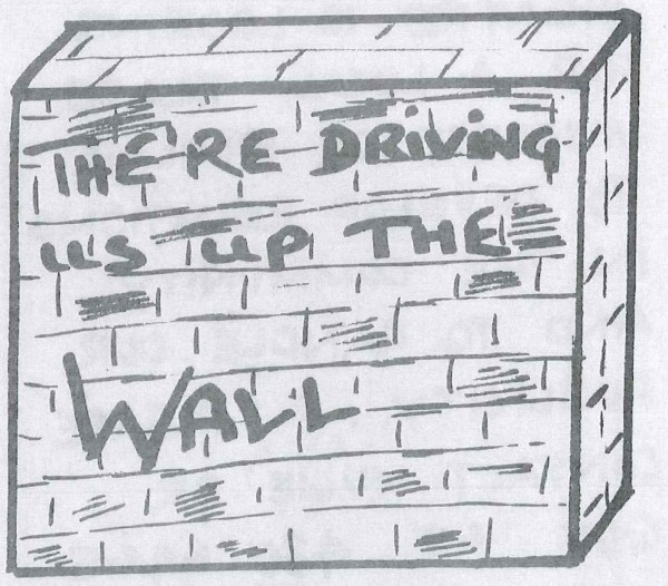 Driving us up the Wall - Main Image