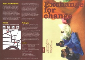 Exchange for Change 2004 - Programme (1)