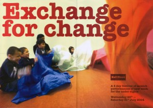 Exchange For Change - Poster