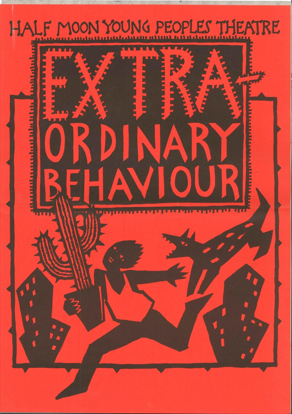 Extra-Ordinary Behaviour Poster
