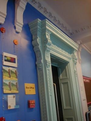 Half Moon Theatre, 43 White Horse Road, interior 1998.