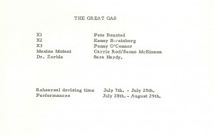 Great Gas, The. - Cast List
