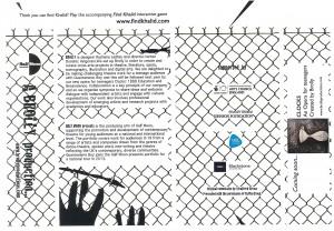 Guantanamo Boy - Programme (back)