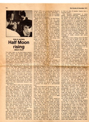 Half Moon Rising - Albert Hunt, New Society, 23 December 1973 (2)