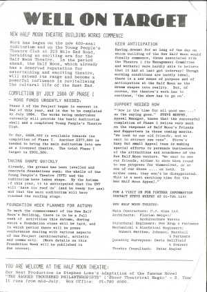 Half Moon Rising - Phase 1, April 83-Autumn 84 - page 2