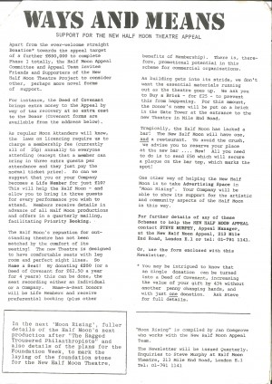 Half Moon Rising - Phase 1, April 83-Autumn 84 - page 3