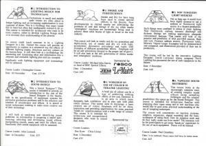 Half Moon Technical Theatre Training Course 1995 (2)