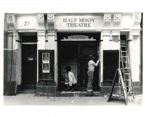 Half Moon Theatre (Alie Street) entrance