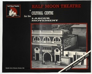 Half Moon - a Cultural Centre for the Labour Movement