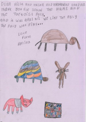 Khorghosh & Kautwa - Hare & Tortoise - Student feedback (1)