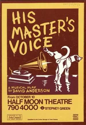 His Masters Voice flyer front