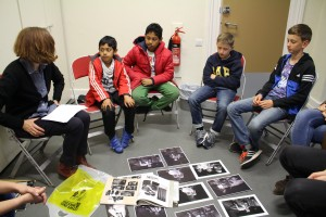 Youth Theatre Session with Sarah Ainslie, 31 May 2016