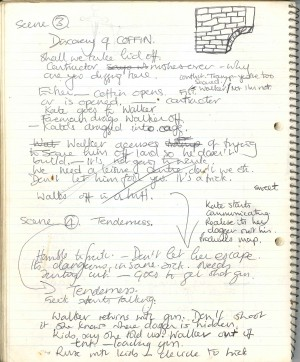 Jacquetta May's Notebook on the creation of The Deep Secret (5)