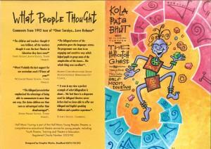 Kola Pata Bhut - The Hopscotch Ghost Flyer Image (1)
