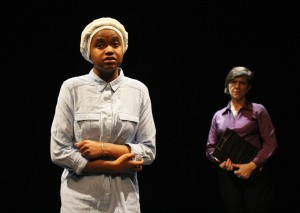Azfa Awad and Rosemary Harris in Map of Me. Photo by Stephen Beeny